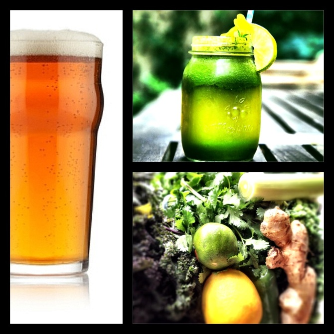 8 Days, countless green drinks. BEER, please...